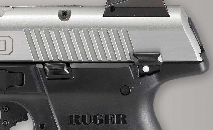 Ruger SR9 safety