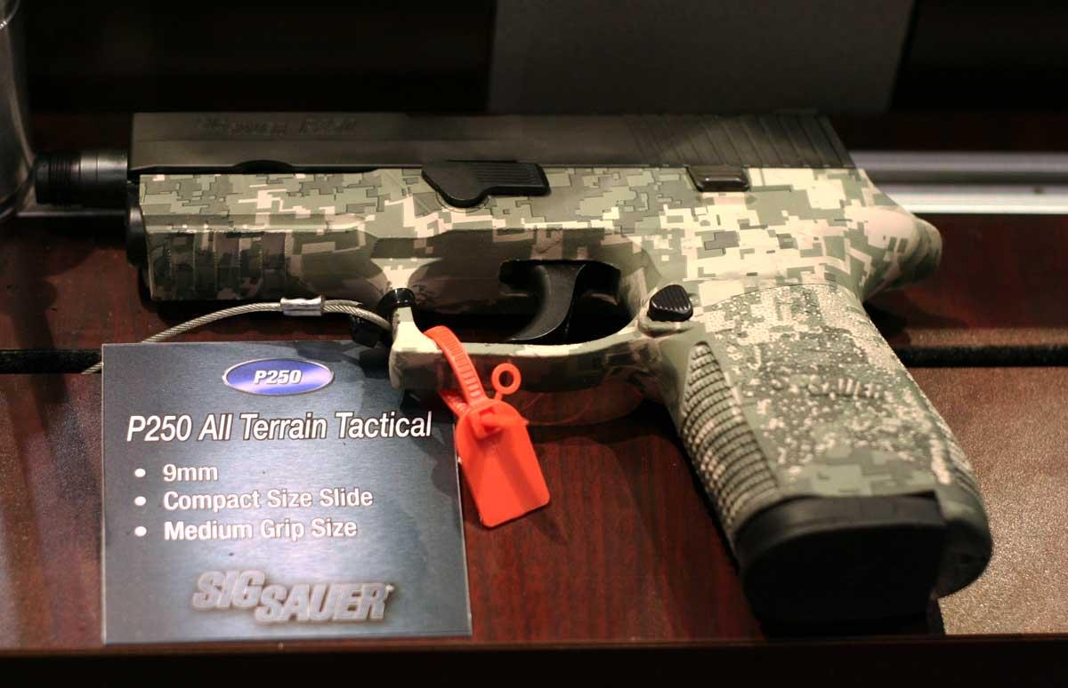 SIG P250 Camo SHOT Show