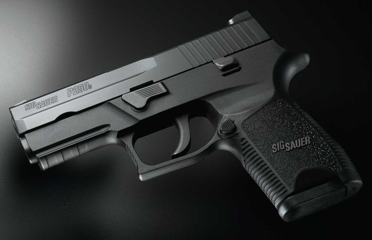 SIG SAUER P250 handgun history