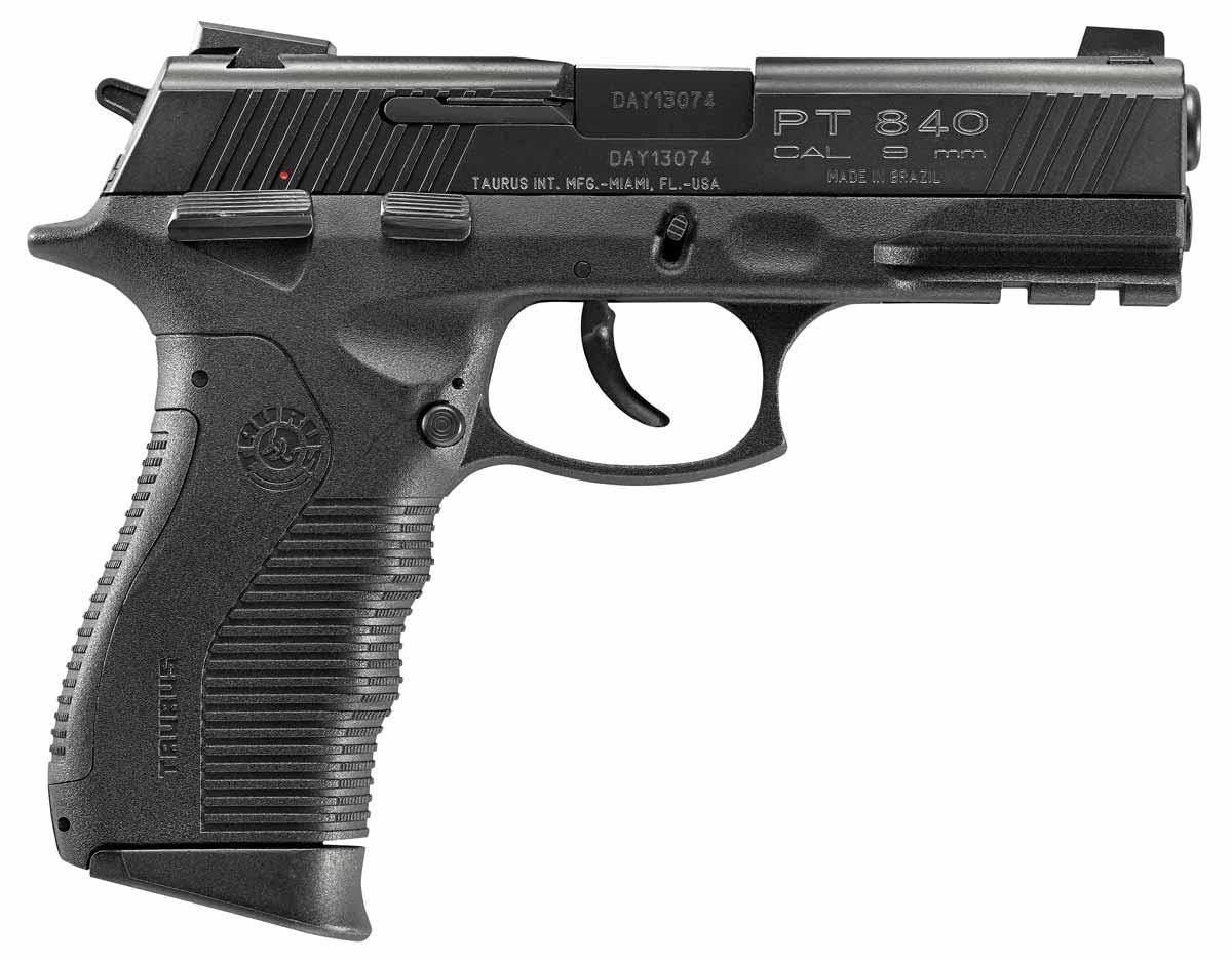 Taurus PT840 handgun