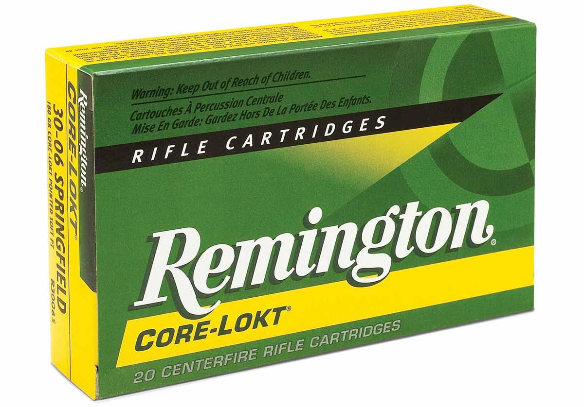 Remington Core Lokt Ammo