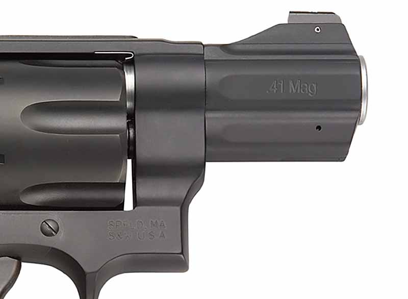 Smith Wesson 357NG Barrel Detail