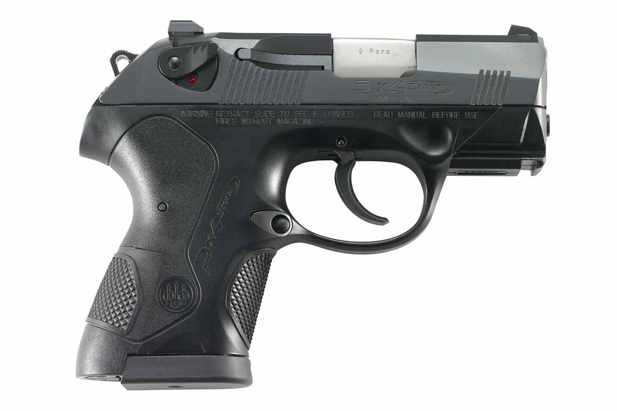 right side view of beretta px4 storm sc