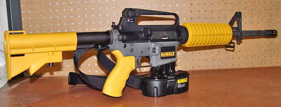 Dewalt AR15 nail gun