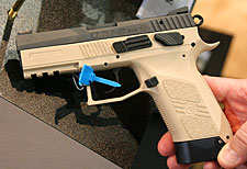 CZ P-07 tactical prototype