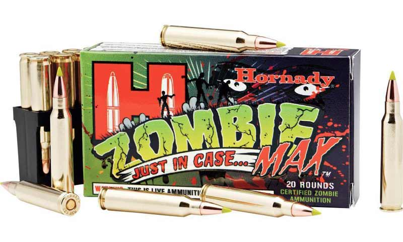 Hornady Z-Max Ammunition for Zombies