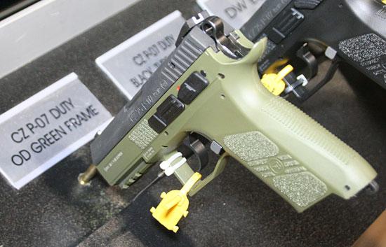 CZ P-07 Duty OD Green