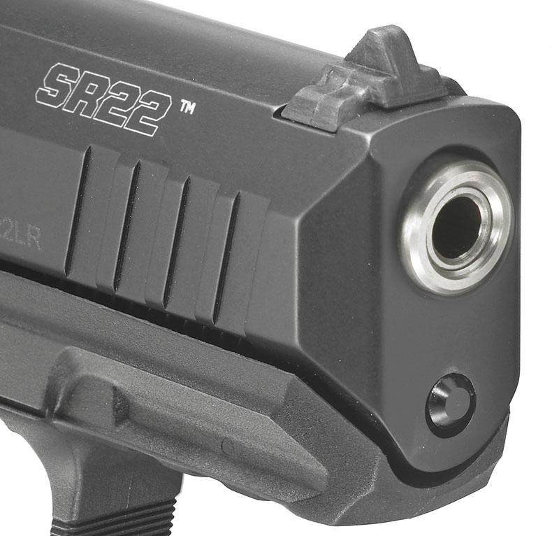 Ruger SR 22 muzzle