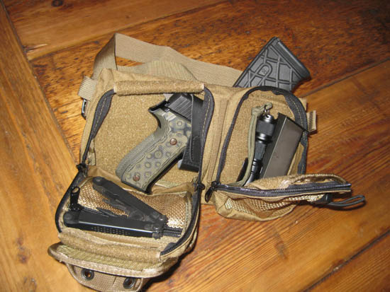Tuff Tacllet for Ruger SR22 pistol holster