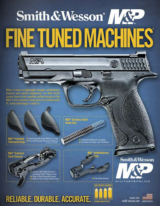 Smith & Wesson M&P Advertisement