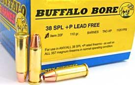 Buffalo Bore Short Barrel 38