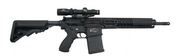 Pig Man rifle