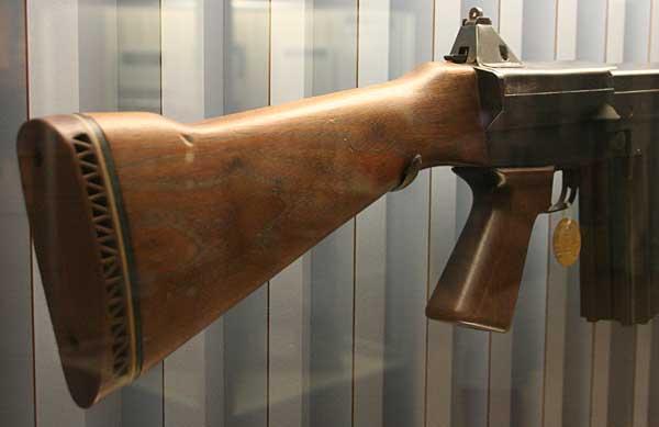 Salvo rifle stock