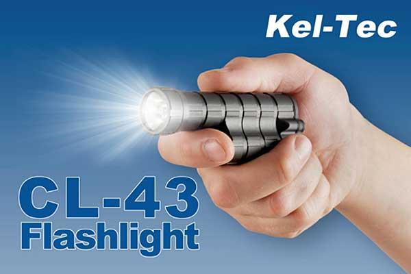 Kel-Tec CL-43 flashlight