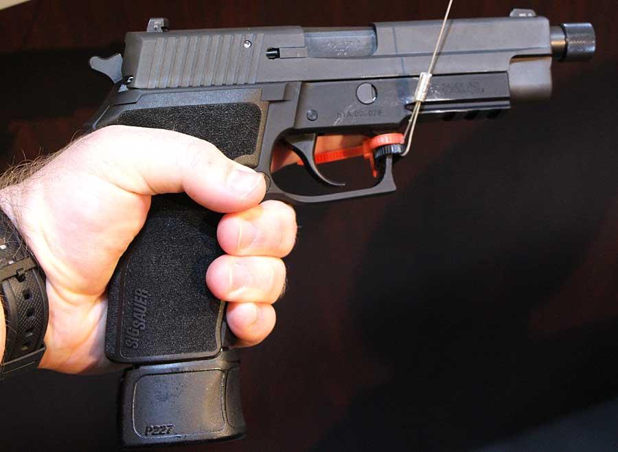 SIG P227 Tactical SHOT Show