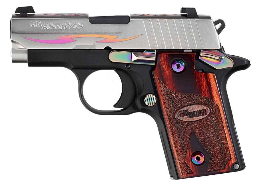 SIG P238 Tribal Rainbow