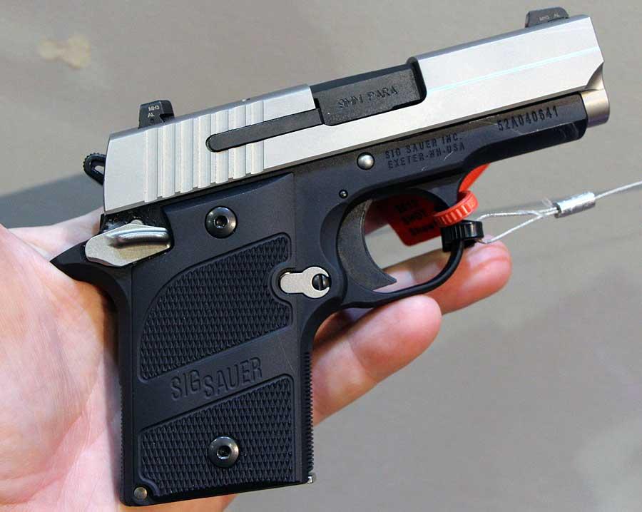 SIG P938 SHOT Show