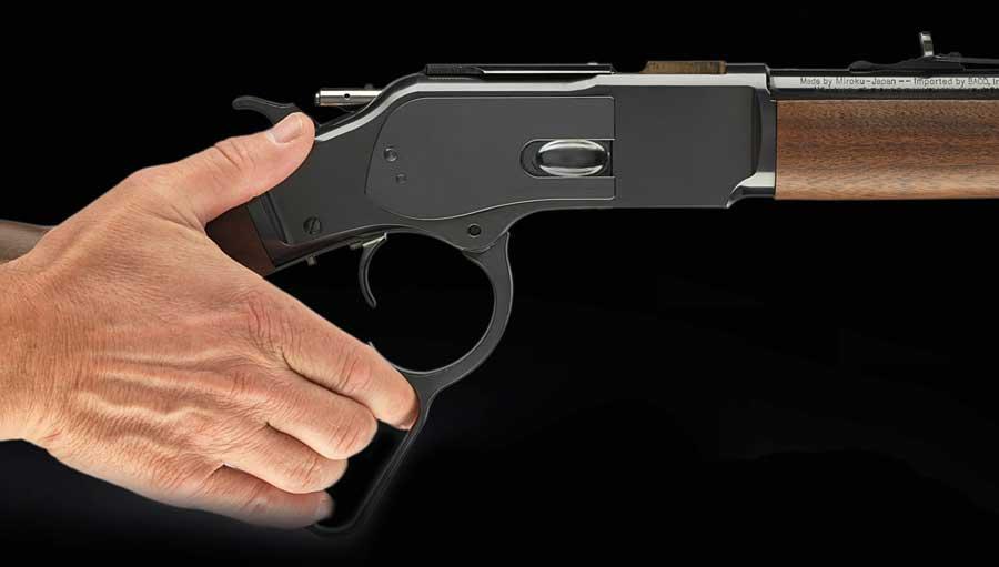 Winchester 1873 lever gun