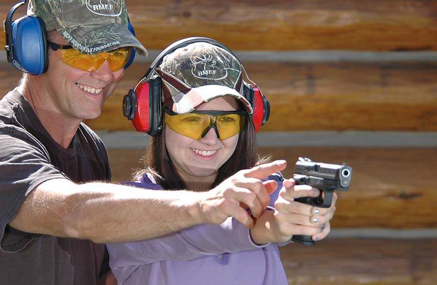 father daughter pistol