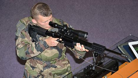 CSR sniper rifle