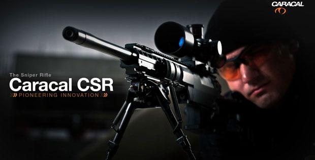 Caracal CSR sniper rifle