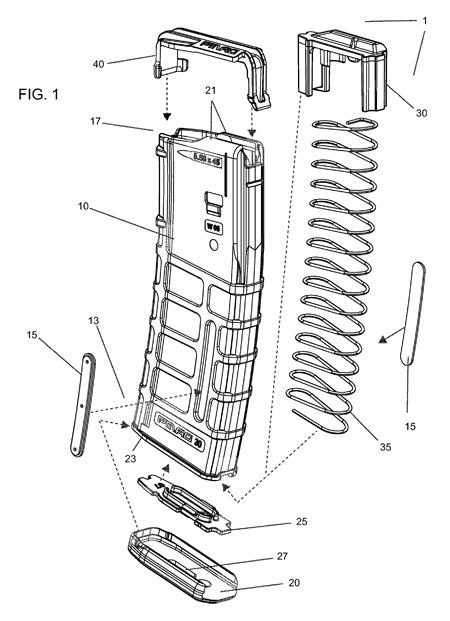 Magpul PMAG patent art