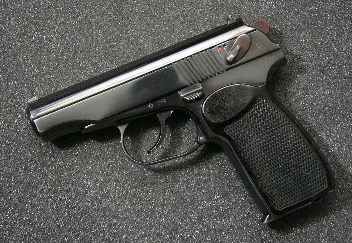 East German Makarov for PErsonal PRotection