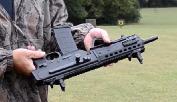 MPA 556 handgun