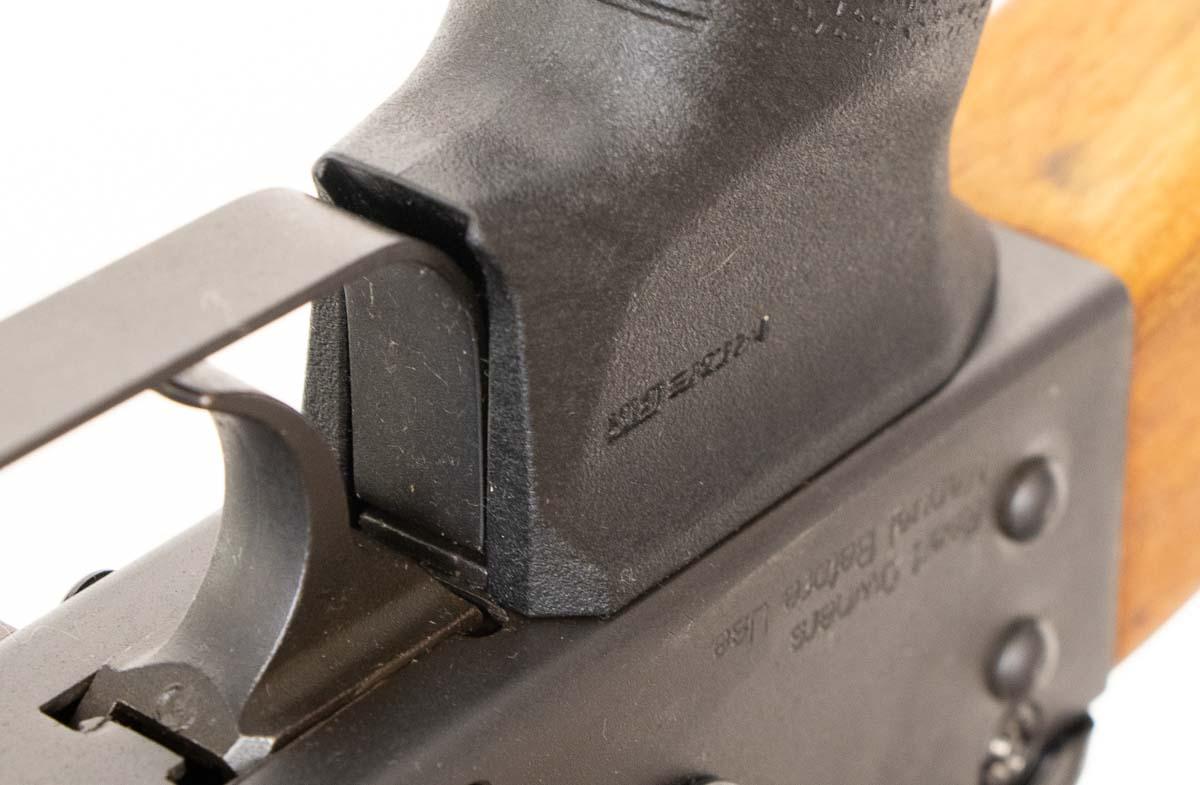 fitting Magpul MOE AK grip to rifle