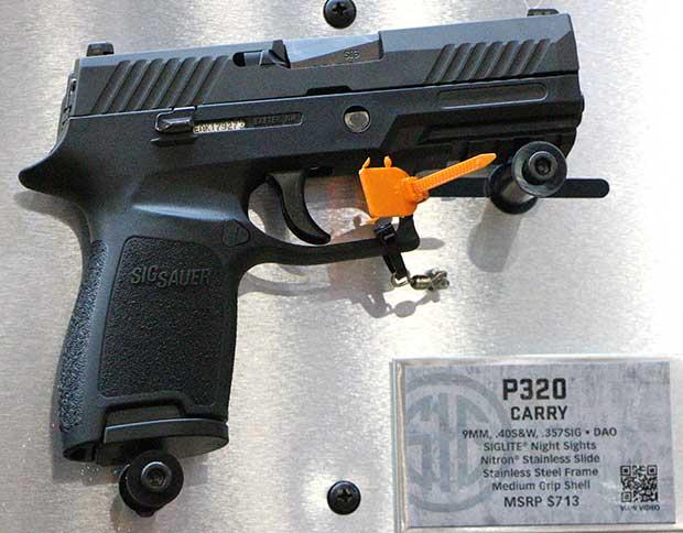 SIG P320 SHOT show 2014