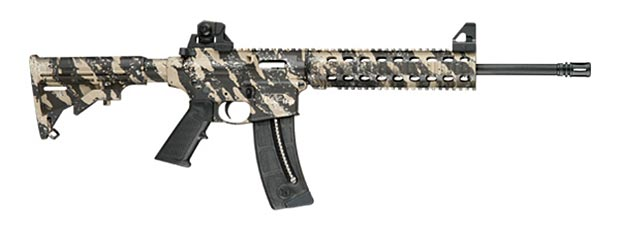Smith and Wesson MP15-22 tan