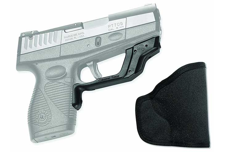 taurus pt740 laser and holster