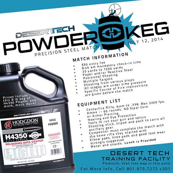 powder keg match