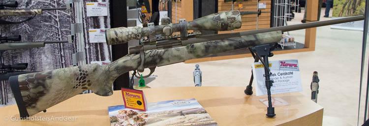 Howa Kryptek Cerakote Highlander rifle