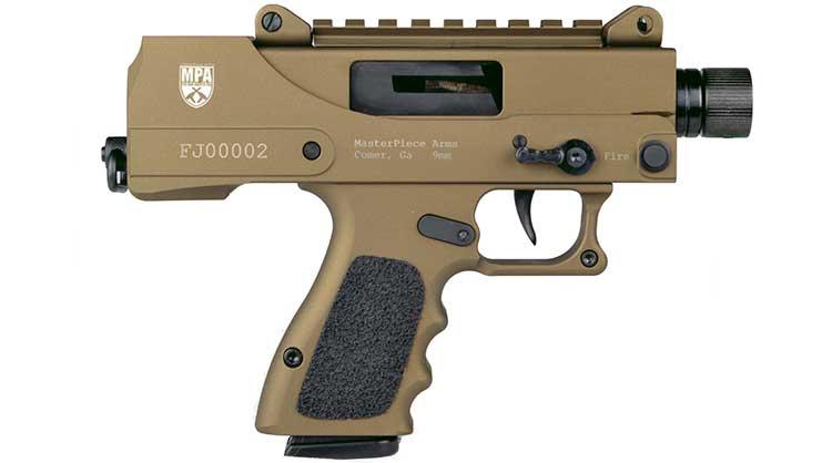 MasterPiece Arms New Pistol