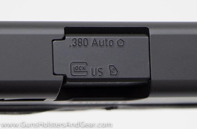 Georgia Proof Mark on a Glock 42
