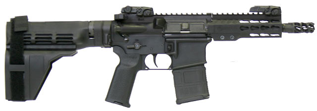 "ArmaLite M-15 6"" pistol"