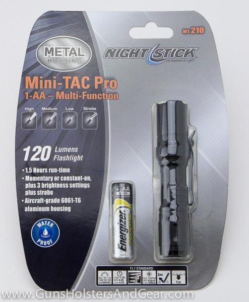 Nightstick MT-210 flashlight