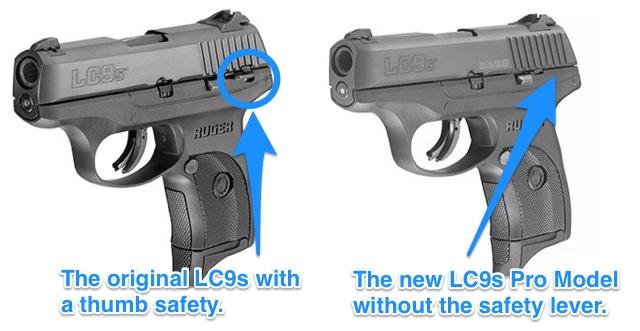 Ruger LC9s Comparison