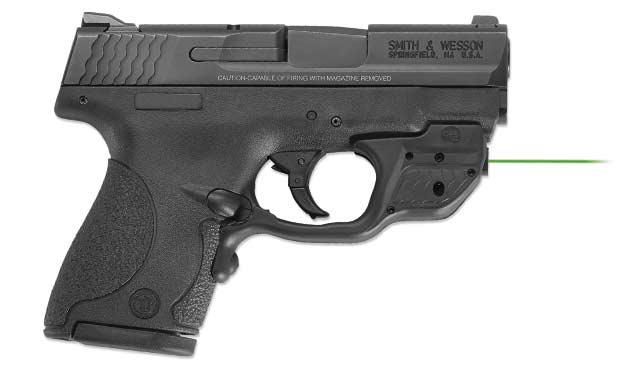 Smith & Wesson Shield Crimson Trace Green 10141