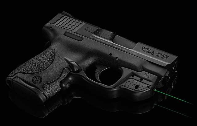 Smith & Wesson Shield Crimson Trace Green