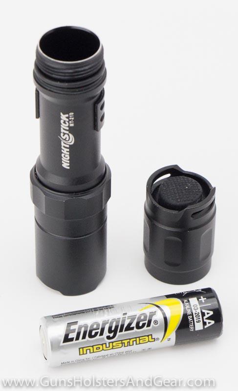 compact flashlight