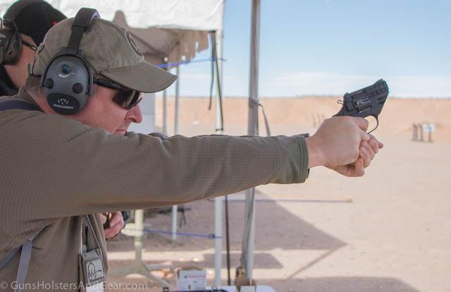 Korth 9mm Revolver recoil