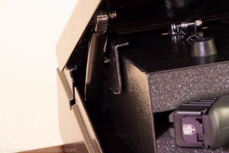 Struts in the Hornady Rapid Safe