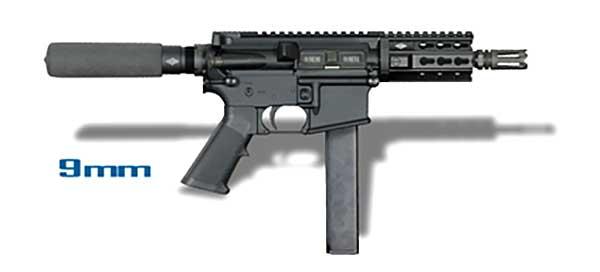 YHM-15 9mm