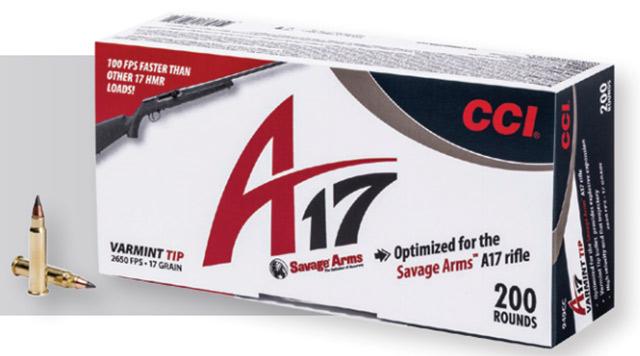 CCI A17 Ammo