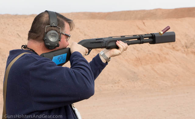Salvo 12 shotgun suppressor