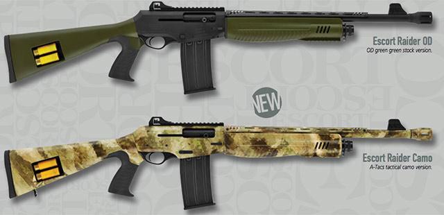 Escort Raider shotguns