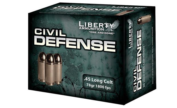 Liberty Ammunition 45 Colt