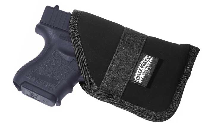 Uncle Mikes pocket holster for Glock 43